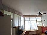Рулонные шторы Len. Тканевые ролеты Лен Белый 0800, 60, фото 8