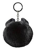 Faberlic Брелок из искусственного меха цвет чёрный Premium арт 600511