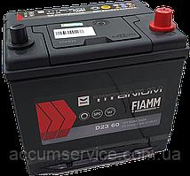 Акумулятор FIAMM black TITANIUM D23 60