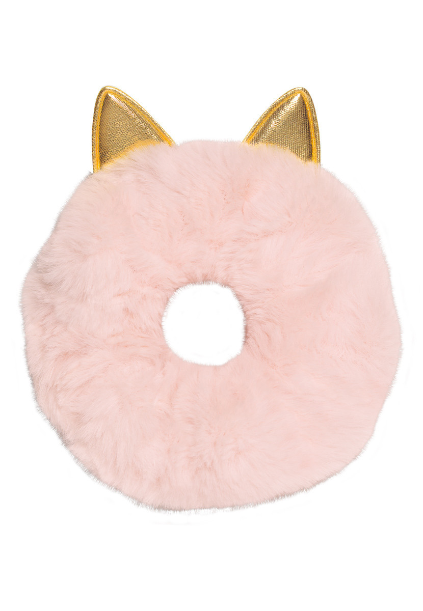 Faberlic Резинка для девочек из искусственного меха цвет розовый для детей Premium арт 55279