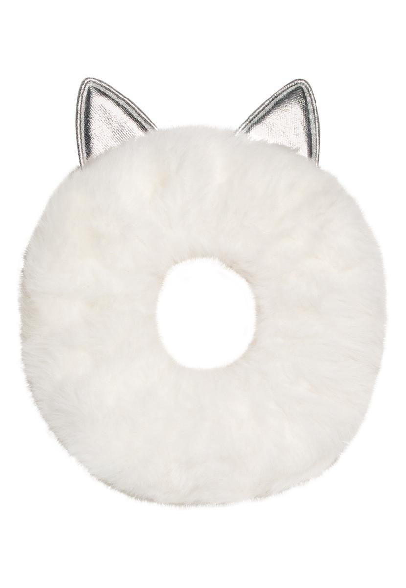Faberlic Резинка для девочек из искусственного меха цвет белый для детей Premium арт 55280