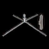 """Віндер """"Крило"""" з прапором, основа хрестоподібна, фото 3"""