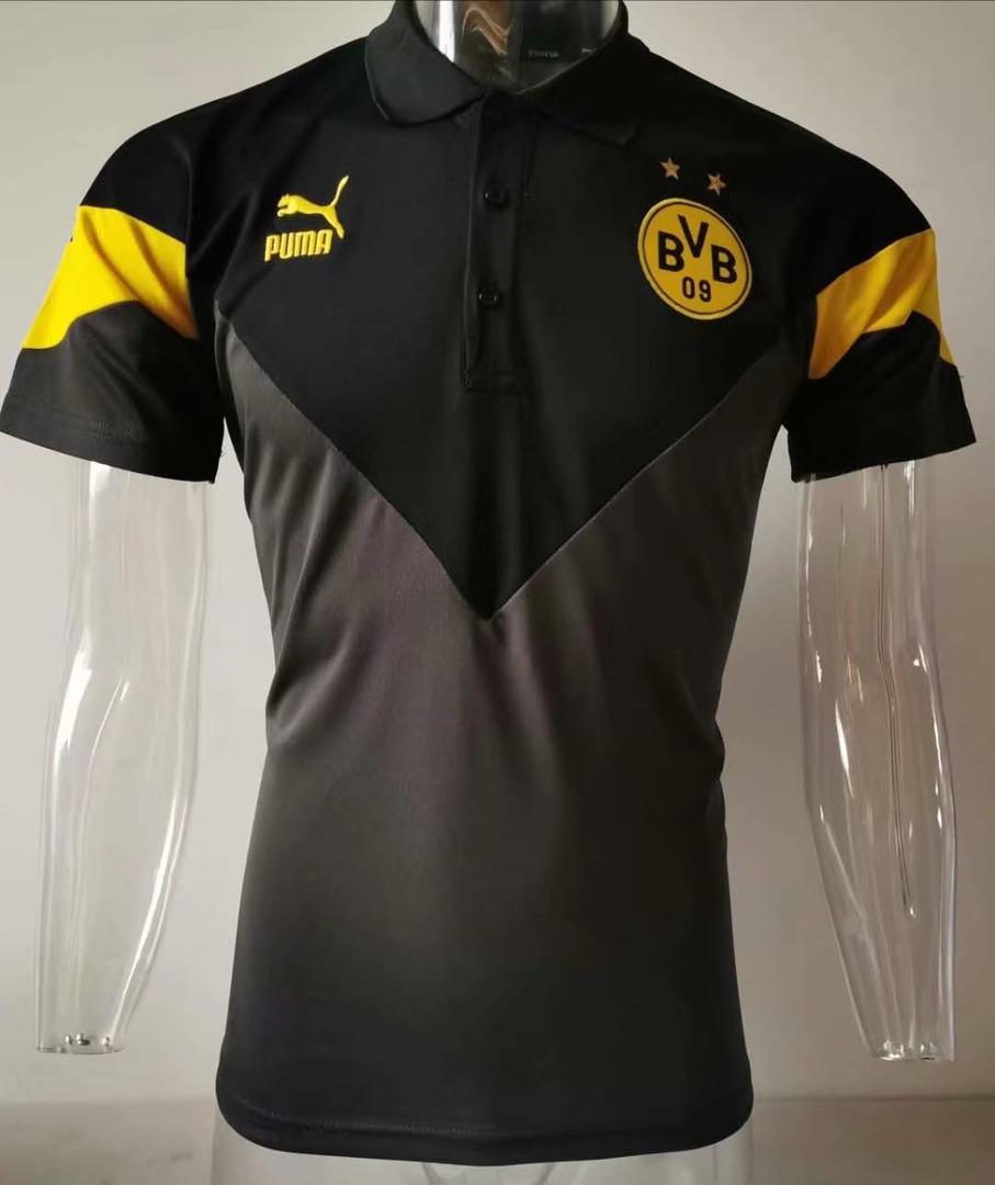 Мужская футболка поло Боруссия NEW 2020 черная