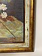 Картина вышивка Цветы 56*45 см, ручная работа, картина вишивка ручної роботи, фото 2
