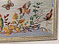 Картина вышивка Райские птицы шелк 54*24 см, ручная работа, картина вишивка ручної роботи, фото 2