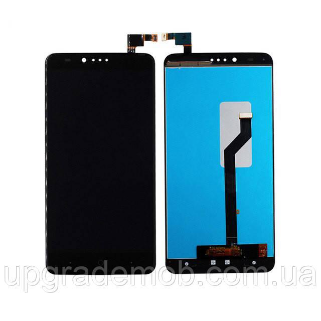 Дисплей ZTE Z981 Zmax Pro тачскрин сенсор черный