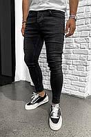 Мужские черные джинсы Все Размеры, фото 1