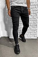 Чоловічі джинси чорні Black Island 6222-3428, фото 1