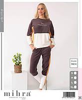 1162-4 Теплая пижама женская флиз ARCAN
