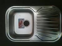 Мойка из нержавейки для кухни 49х74