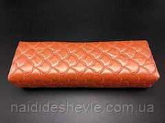 Подлокотник для маникюра, квадрат Оранжевый