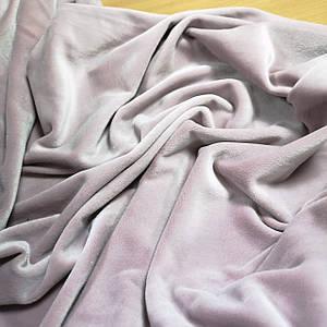 Ткань плюш велюр пудра