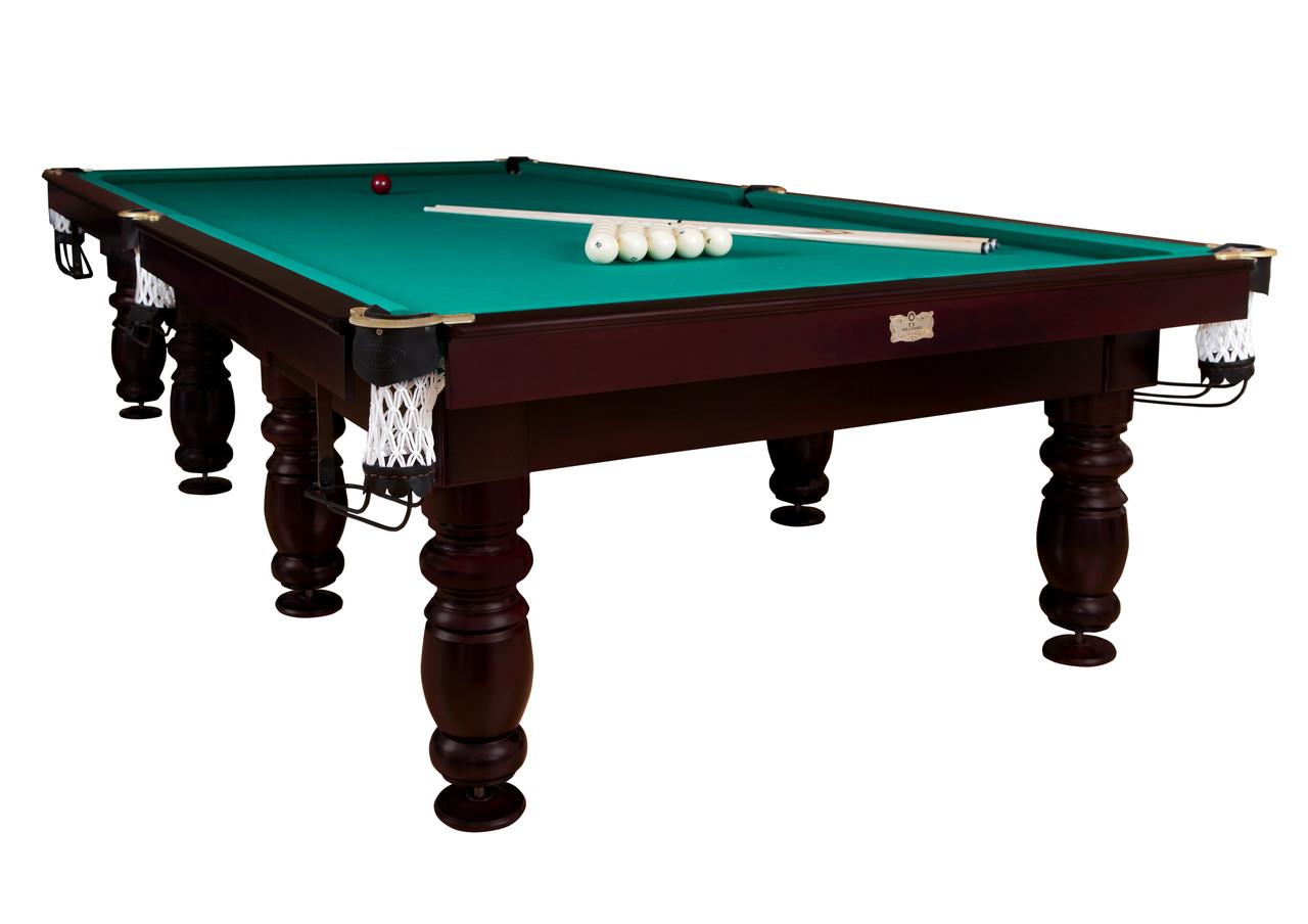 Більярдний стіл для піраміди КЛАСИК 2 ЛЮКС 9ф ардезія 2.6 м х 1.3 м