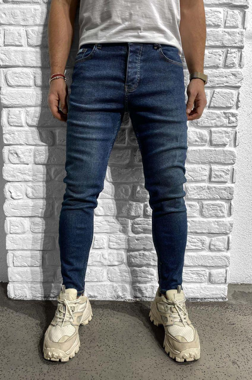 Мужские джинсы синие Black Island 6204-3468