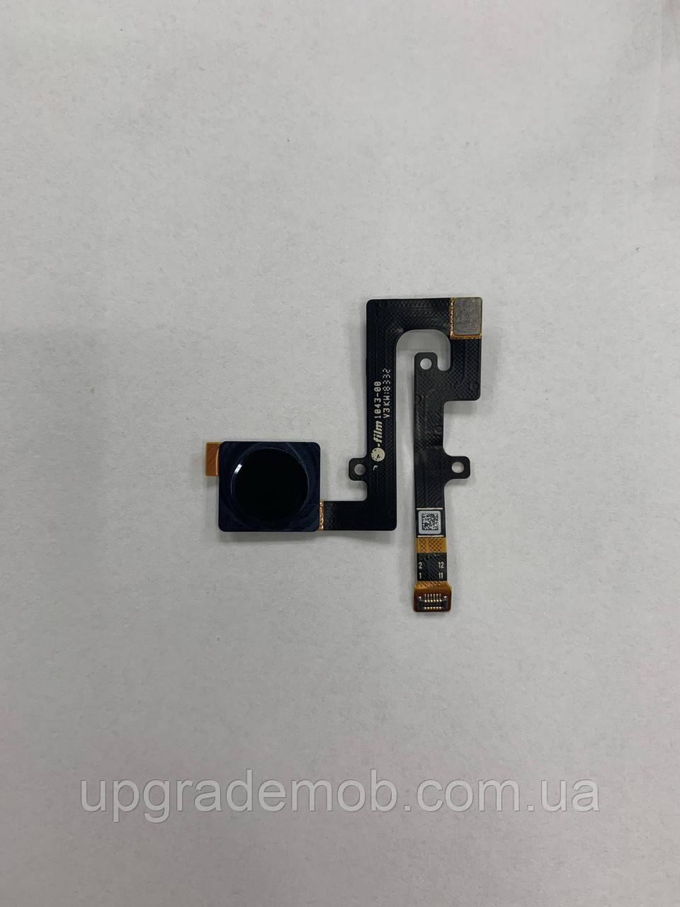 Шлейф Nokia 6.1 Plus TA-1083/TA-1116/TA-1103, Nokia X6 2018 TA-1099, с сканером отпечатка пальца, черного