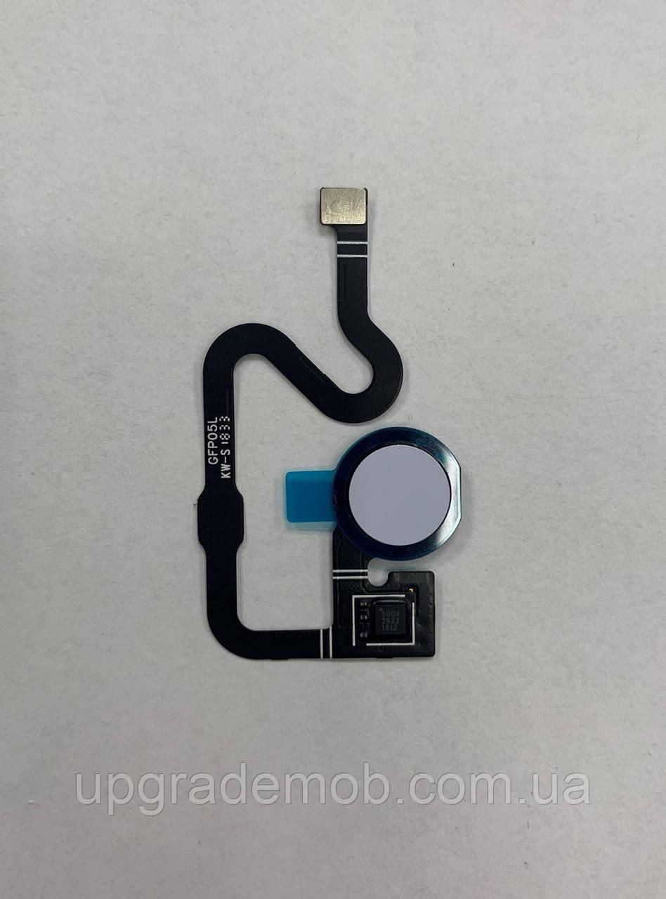 Шлейф Google Pixel 3a , с сканером отпечатка пальца, сиреневого цвета, Purple-ish