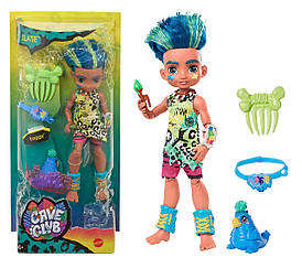 Кукла мальчик Слейт и питомец Тэгги Пещерный клуб 25 см Cave Club Mattel