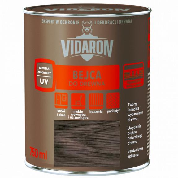 Бейц для древесины Vidaron В12 серый антрацит 750 мл