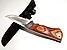 Мисливський ніж з дерев'яною ручкою Colunbia 28см, фото 5