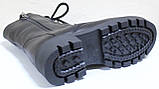 Ботинки высокие женские на байке кожаные от производителя модель БМ354Д, фото 4