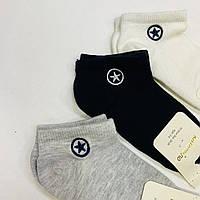 Короткие детские белые носки, фото 1