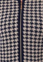 """Вязаный кардиган  с графическим орнаментом """"Лапка"""" Оверсайз Размер 50-54, фото 2"""
