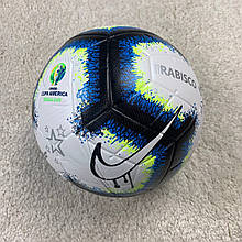 Мяч Копа Америкабело-синий №5