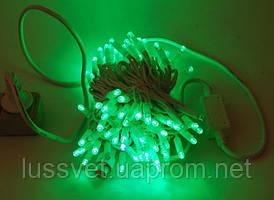 Гирлянда-нить уличная с FLASH STRING 10м 100led зеленый