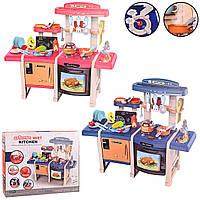 """Детский Игровой набор """"Современная кухня"""", красная и синяя. MING JIA LONG (MJL-713/713)"""