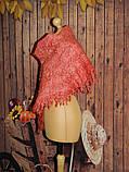 Шарф-косынка  шерстяной ручного валяния, фото 2