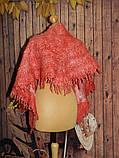 Шарф-косынка  шерстяной ручного валяния, фото 3