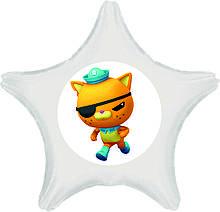 """Оракал Октонавт кіт Квазі 15*15см на кульку фольга коло, серце або зірка 18"""""""