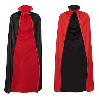 Карнавальний плащ Дракули (чорно-червоний), фото 2