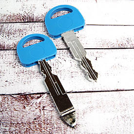 Ручка шариковая Ключ (голубая)