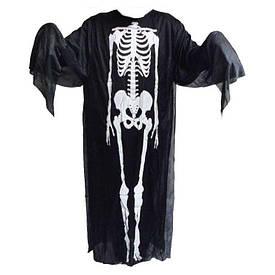 Карнавальний плащ Скелета