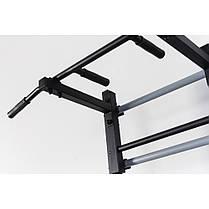 Комбинированная передвижная гимнастическая стенка Универсал СТУП черный ТМ Ладас, фото 3