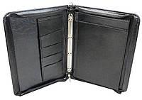 Папка деловая из искусственной кожи Exclusive Черный 710800-5 black, КОД: 2413894