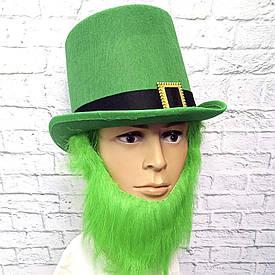 Капелюх Лепрекона з зеленою бородою