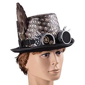 Карнавальная шляпа Стимпанк Капитан Теодор 9129-054