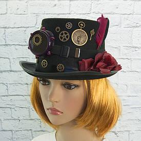 Карнавальний капелюх Стімпанк Дослідник Глорія 9128-053