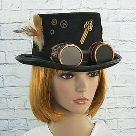 Карнавальная шляпа Стимпанк Инженер Джейми 9127-052