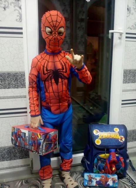 Человек-паук детский карнавальный костюм