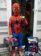 Человек-паук детский карнавальный костюм, фото 1