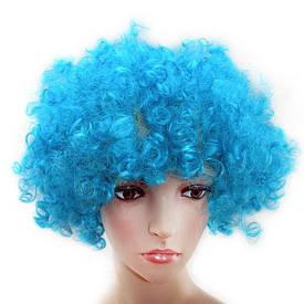 Перука Клоуна (блакитний)