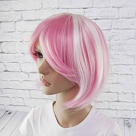 Перука Косплей Лоліта (рожево-білий)