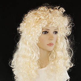 Кучерява перука (блонд)