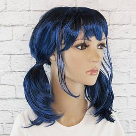Перука Косплей Леді Баг (синій з чорним)