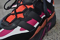 Мужские кроссовки Adidas NiteBall Black Purple ( Реплика ) Остался 43 размер, фото 2
