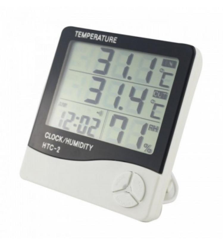Цифровий термометр з виносним датчиком HTC-2 (KG-581)