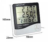 Цифровий термометр з виносним датчиком HTC-2 (KG-581), фото 3